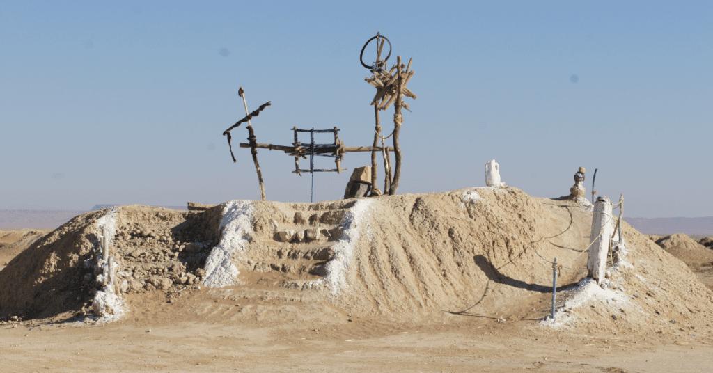 Khettara water well in Morocco